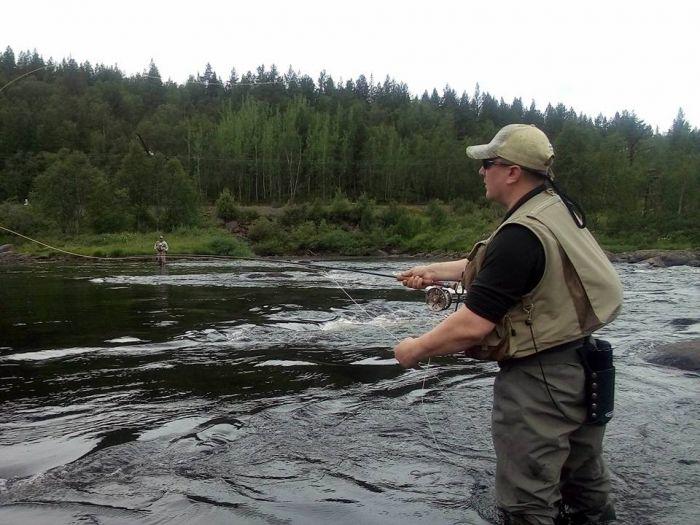 рыбалка на семгу в реках карелии